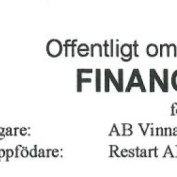 Officiellt omdöme Financial Dust
