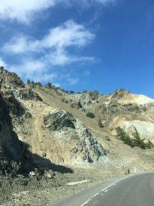 Rock formations in Trodoos Mountain