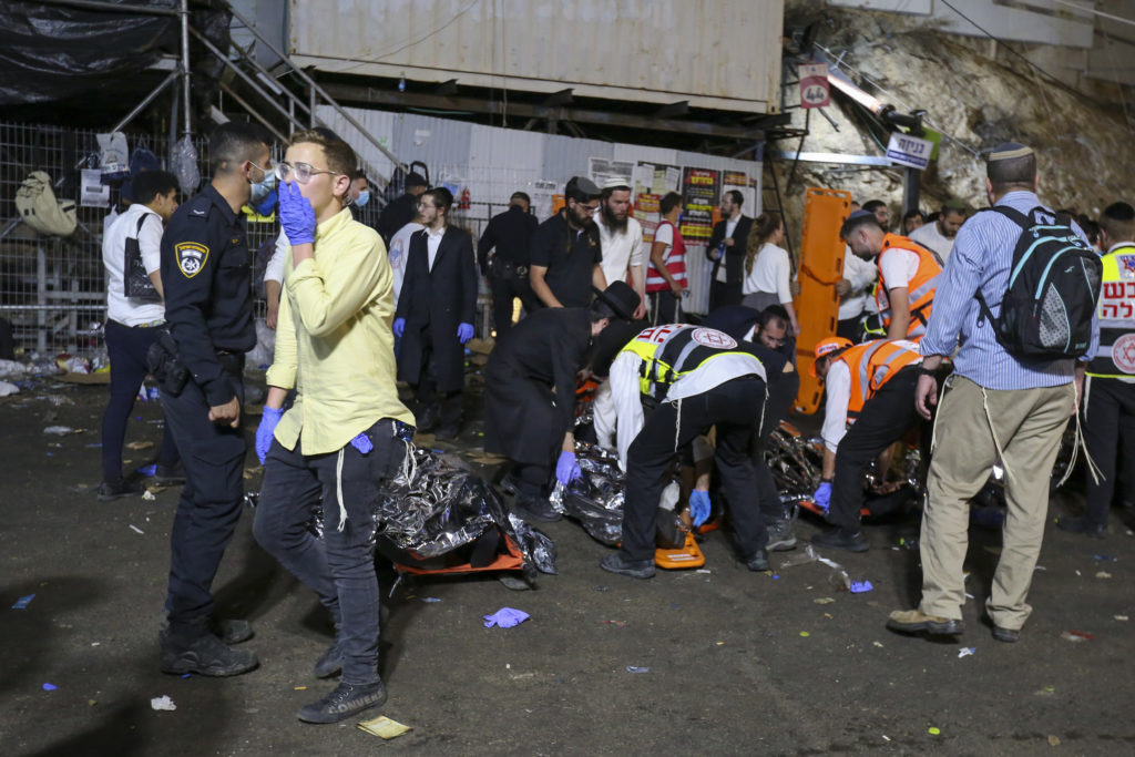 Photos of The Lag B'Omer Tragedy 3