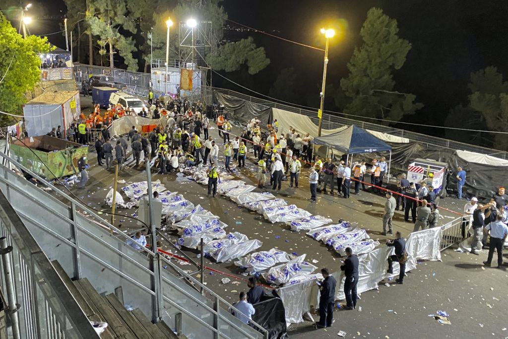 Photos of The Lag B'Omer Tragedy 4