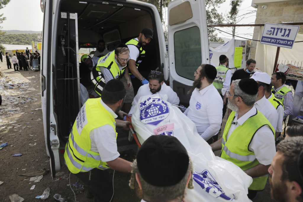 Photos of The Lag B'Omer Tragedy 11