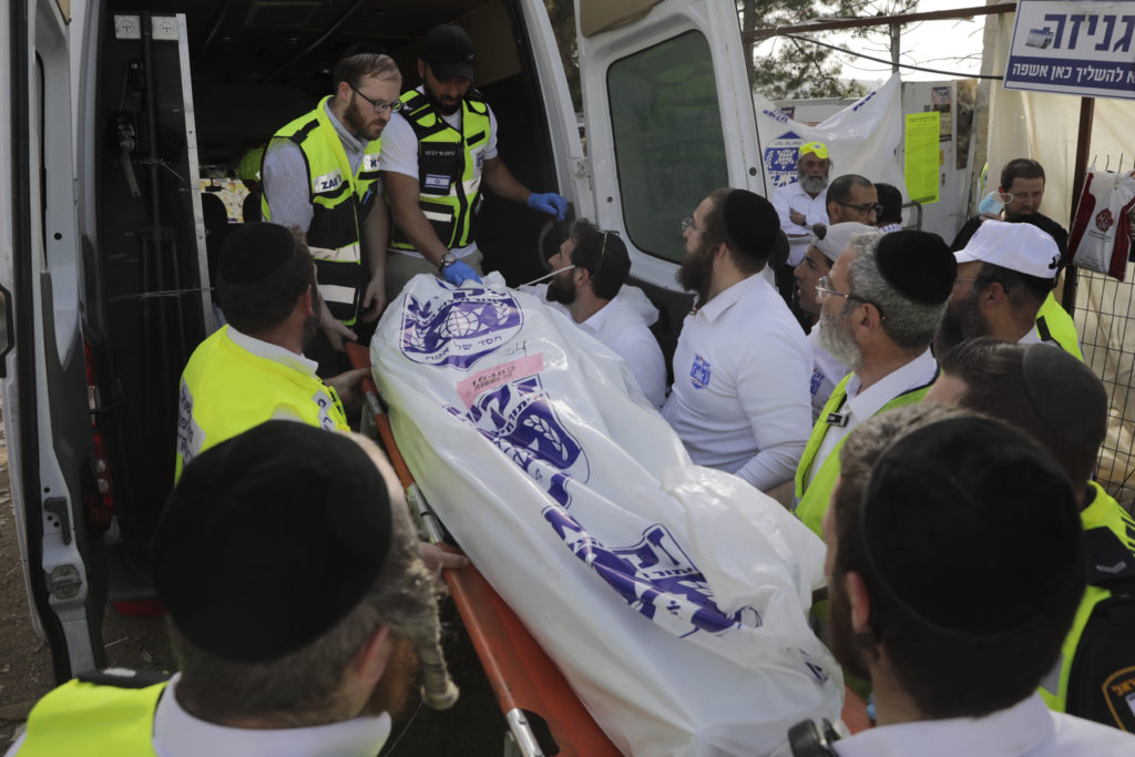 Photos of The Lag B'Omer Tragedy 12