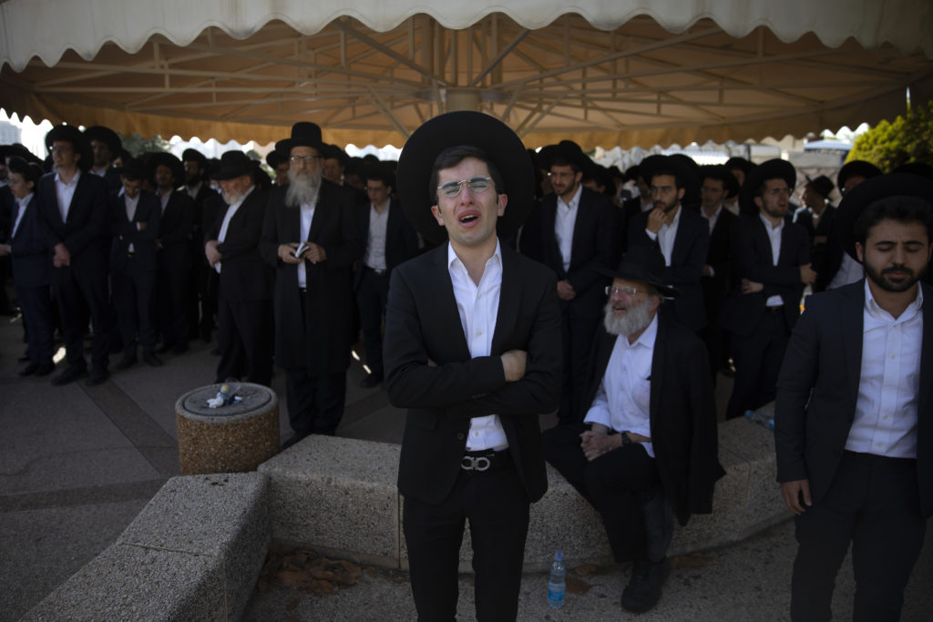 Photos of The Lag B'Omer Tragedy 24