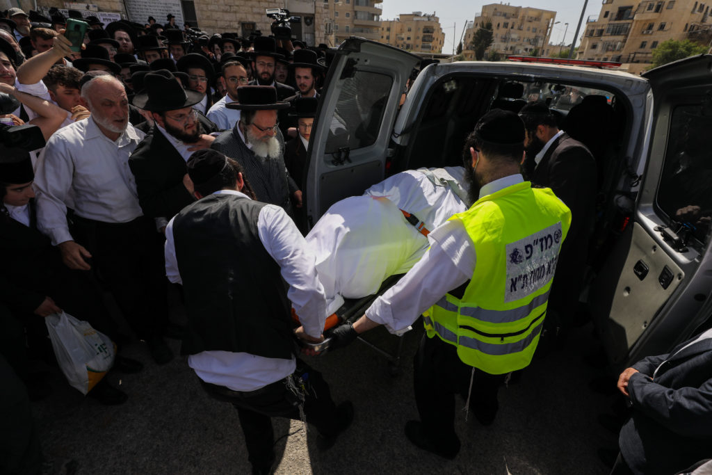Photos of The Lag B'Omer Tragedy 38