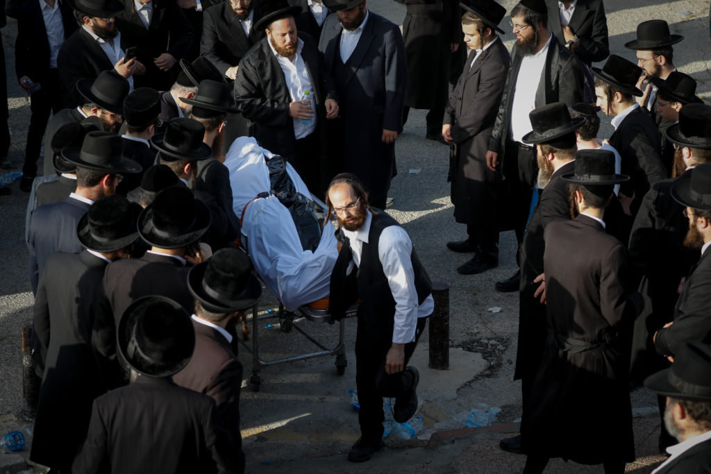 Photos of The Lag B'Omer Tragedy 49
