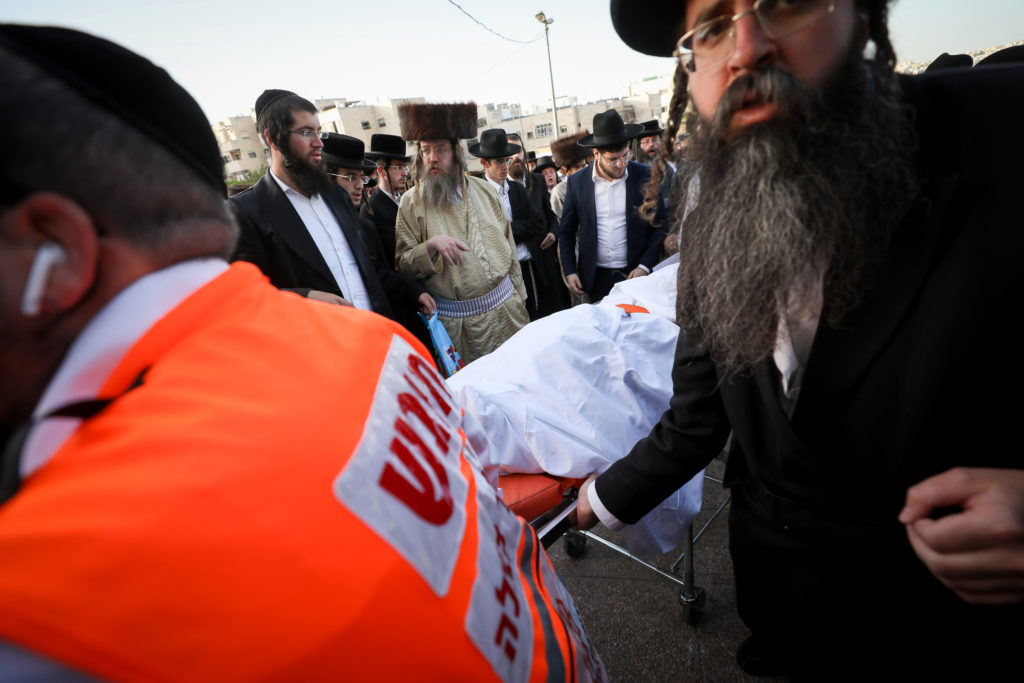 Photos of The Lag B'Omer Tragedy 51