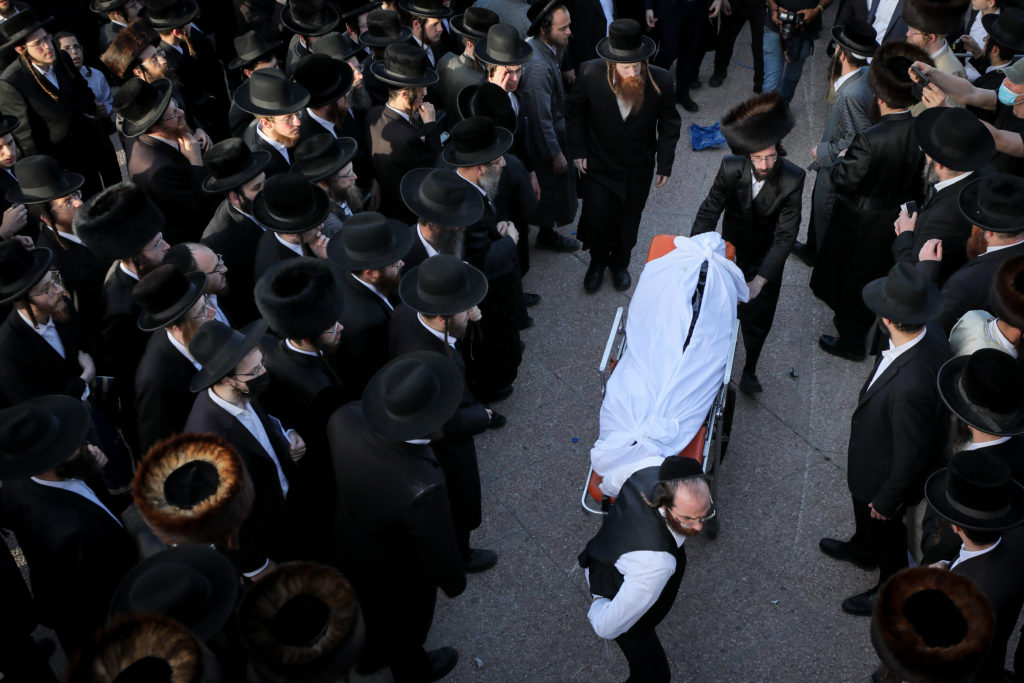 Photos of The Lag B'Omer Tragedy 53