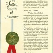 English: United States Patent Cover From A Rea…