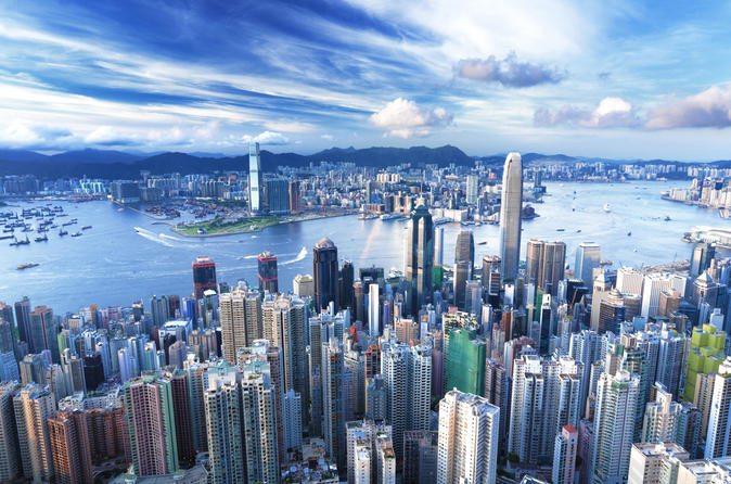 Hong Kong island (pic: iStock)