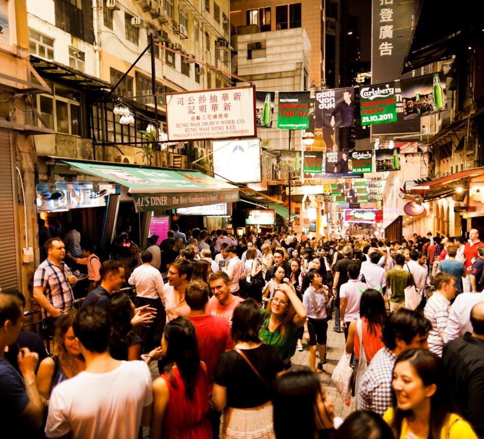 Nightlife in Hong Kong