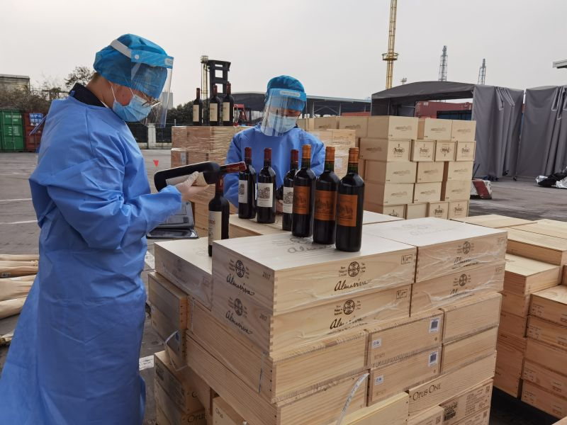 Premium smuggled wines busted in Shanghai