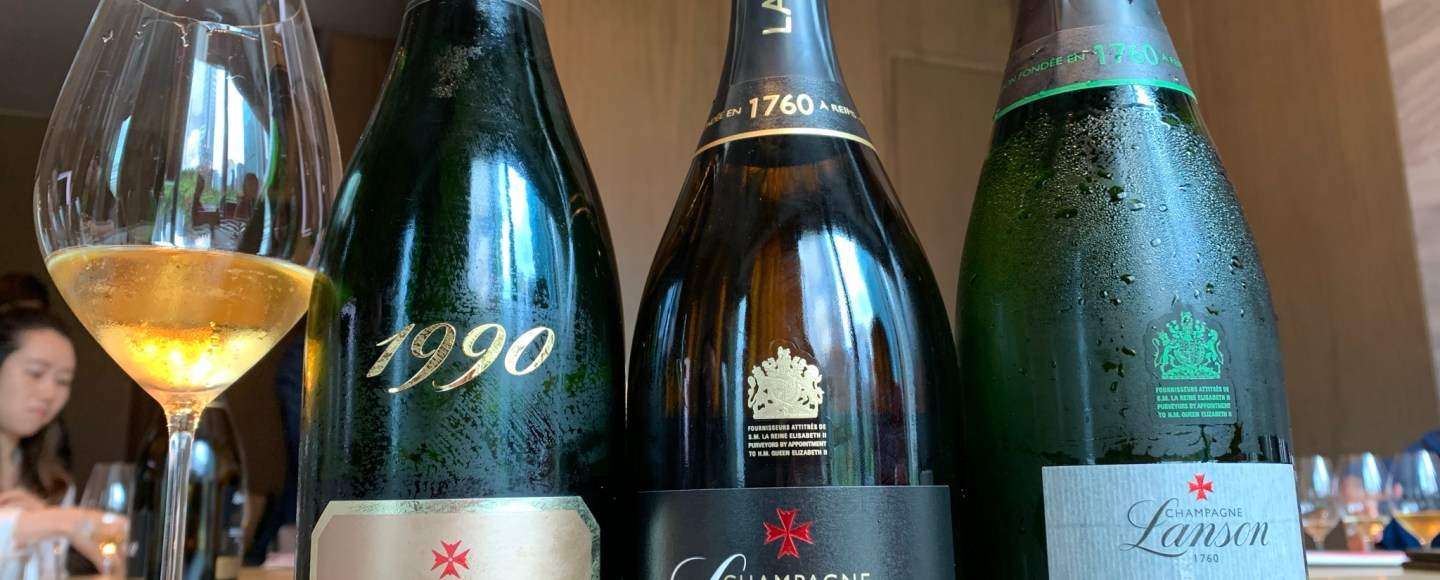 Champagne Lanson's Black Label Reserve is now available in Hong Kong at St Regis hotel (pic: Vino Joy News)