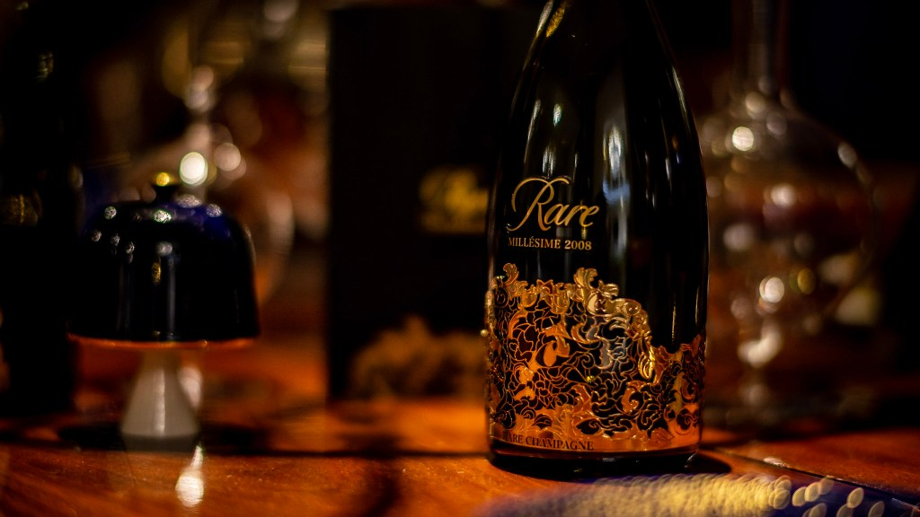 Rare Champagne has released its latest 2008 vintage (pic supplied by Northeast Wine & Spirits))