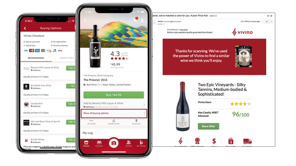 Vivino reported its best year yet during the pandemic thanks to surging home consumption (pic: Vivino)
