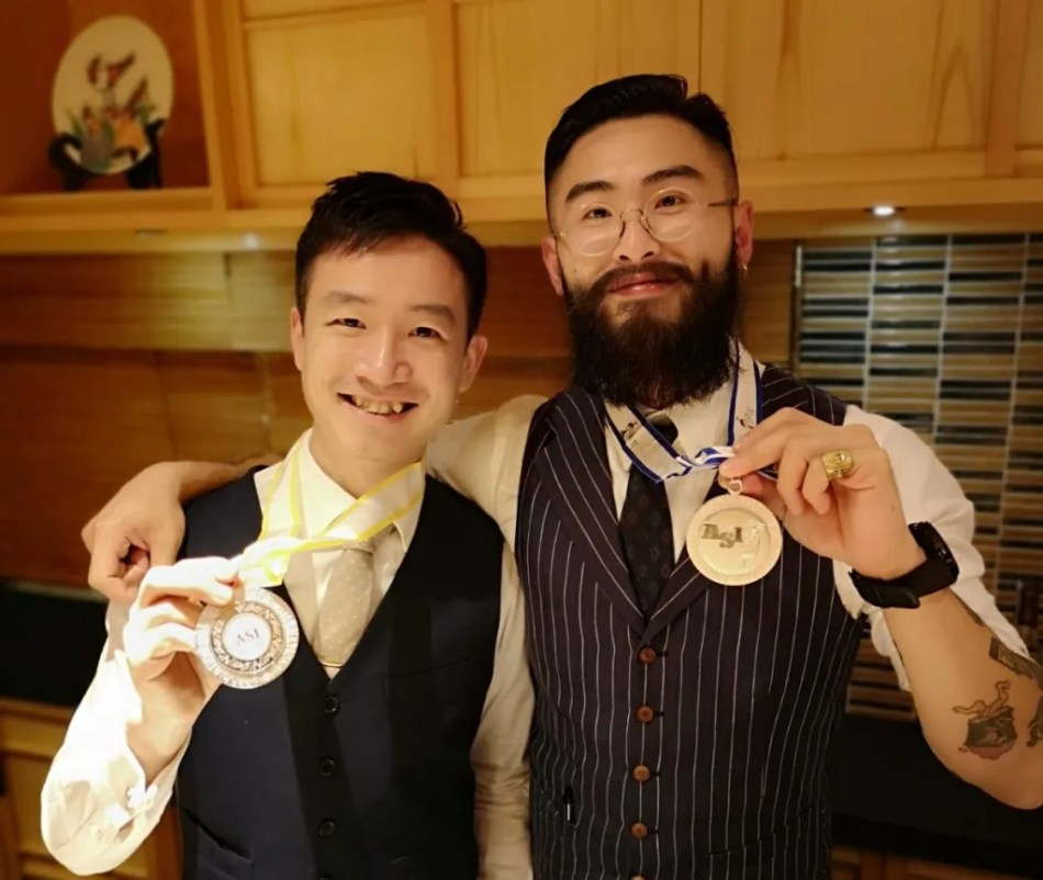 Reeze Choi and Wallace Lo (pic: Somm's Philosophy)