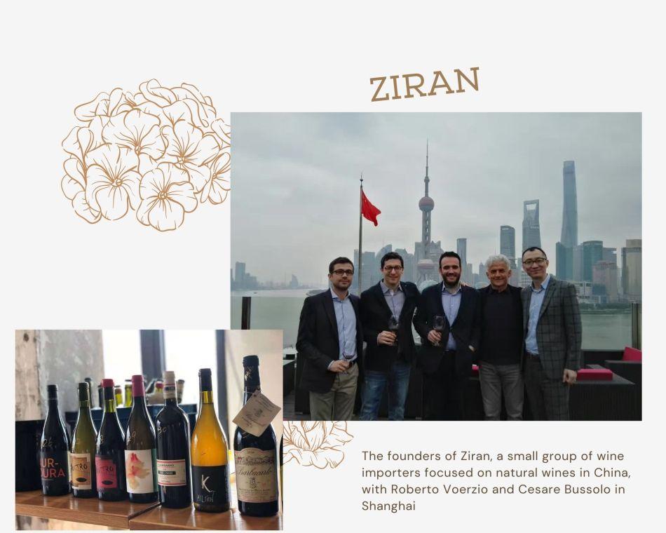 Founders of Ziran with Barolo producer Roberto Voerzio and his pupil Cesare Bussolo (pic: Vino Joy News)