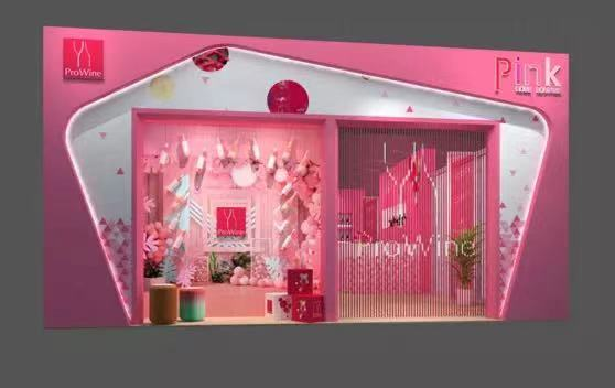 ProiWine has envisioned a Pink Rose Lounge this year (pic: ProWine Shanghai)