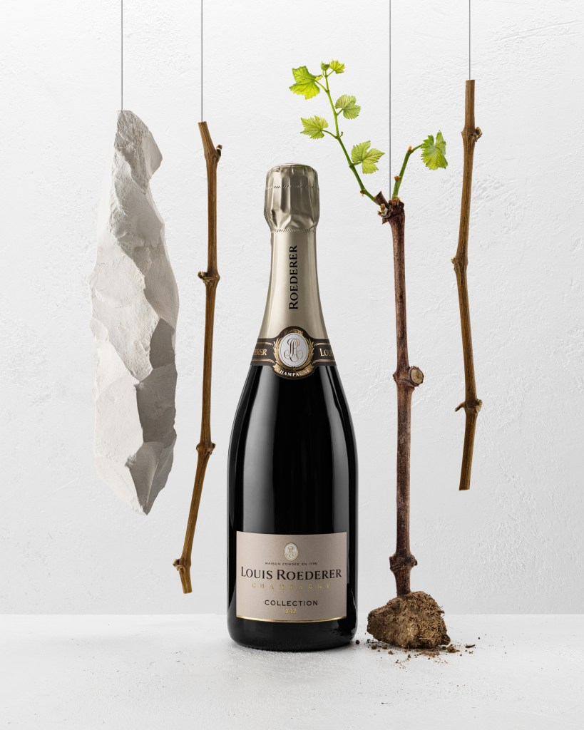 Collection 242 is the newly launched multi vintage blend Champagne from Louis Roederer, replacing Brut Premier (pic: Louis Roederer)