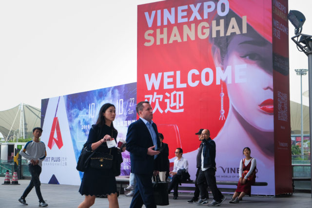 Vinexpo Shanghai 2021 is cancelled 10 days before it's planned to start, causing confusion among wineries and producers (pic: Vinexpo)