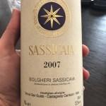 вино Сассикайя 2007