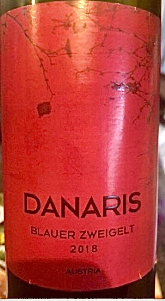 Цвайгельт австрийское вино Данарис