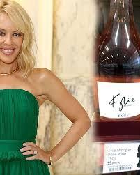 Kylie Minogue Кайли Миноуг вино розе селебрити вино