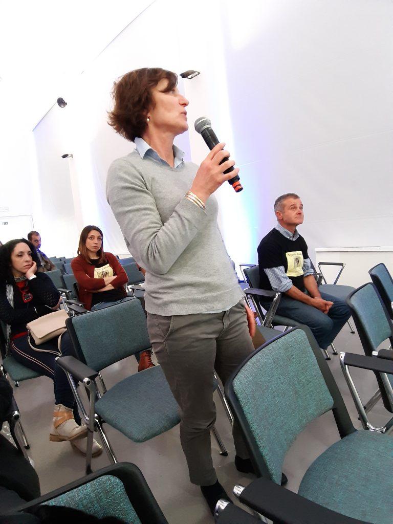 la presidente della FIVI Matilde Poggi, vignaiola in Bardolino (az Le Fraghe)