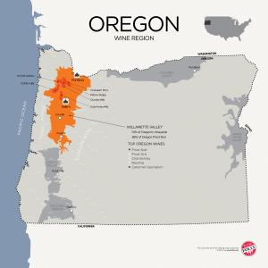 Винная карта Орегона
