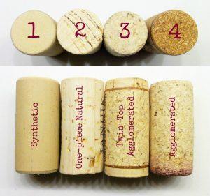 kinds of corks