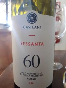 """Monteregio di Massa Marittima """"Sessanta"""" 2011 - Casteani"""