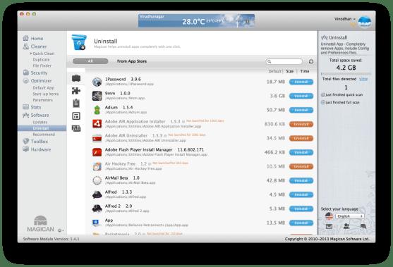Software - Uninstall