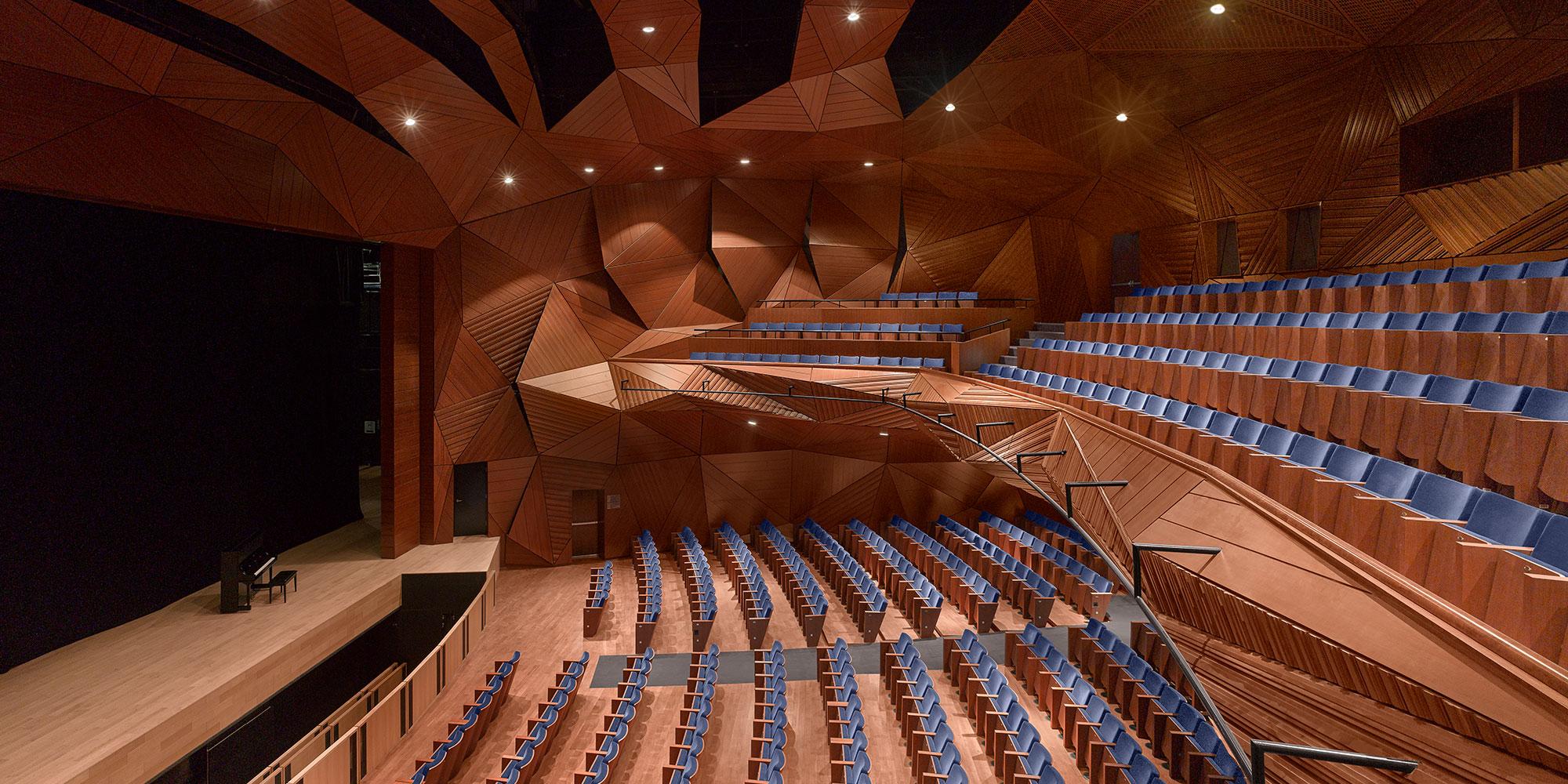 Rafael Viñoly Architects   New York University Abu Dhabi. Arts Center - Rafael Viñoly Architects