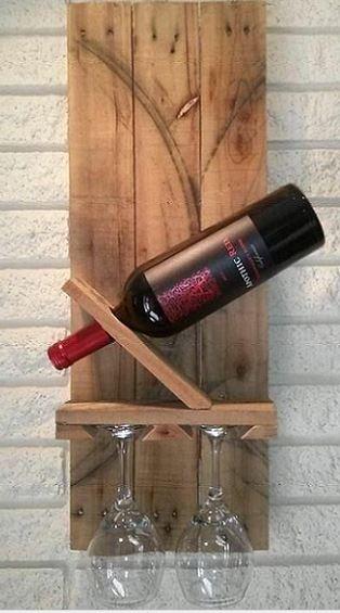 15 ideas creativas DIY para el vino con palets  vinopack