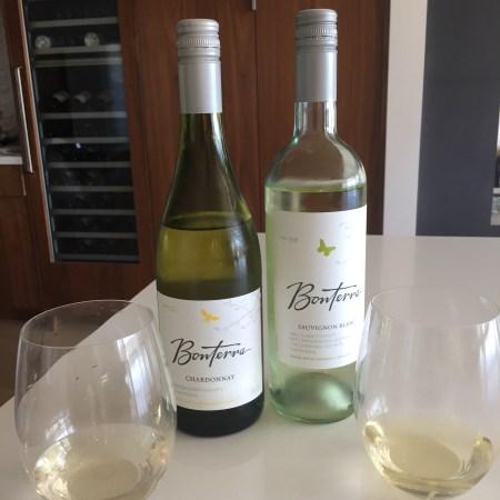 2016 Bonterra Mendocino County Chardonnay & 2016 Bonterra Tri County Sauvignon Blanc