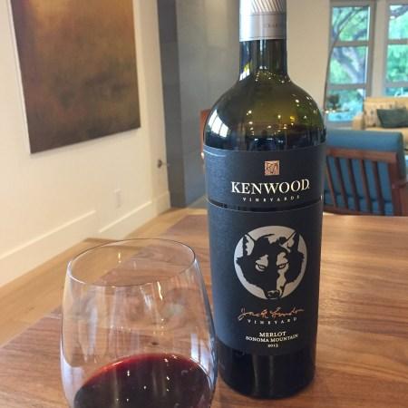 2013 Kenwood Jack London Vineyard Merlot, Sonoma Mountain