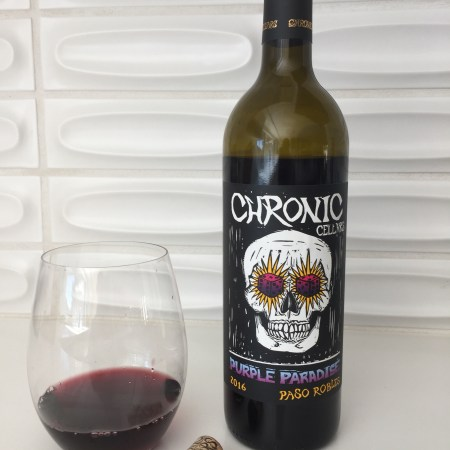 2016 Chronic Cellars Purple Paradise (Red Blend)  Paso Robles