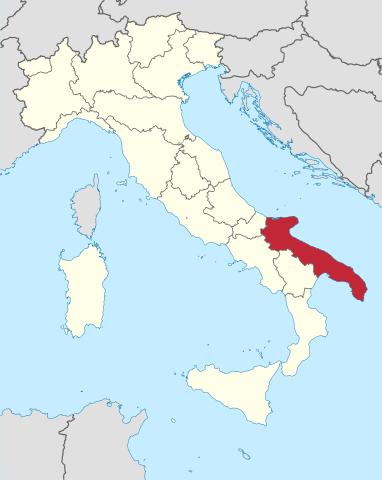 Puglia, the heel on Italy's boot.