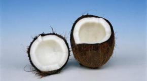 El coco frescopara beber