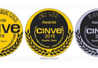 CINVE 2018, los resultados de los vinos premiados