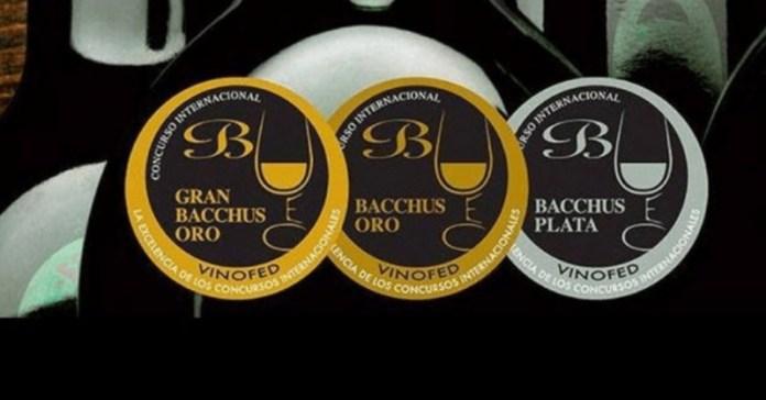 premios bacchus 2020 medallas oro
