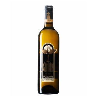 vino blanco guitian fermentado en barrica