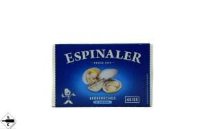 berberechos al natural espinaler 45/55