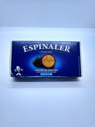 caviar de oricios
