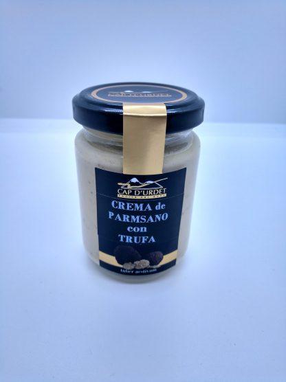 crema de parmesano con trufa