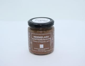 mermelada de datiles y pistacho mademi