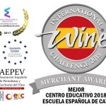 ESCUELA ESPAÑOLA DE CATA MEJOR CENTRO EDUCATIVO 2018