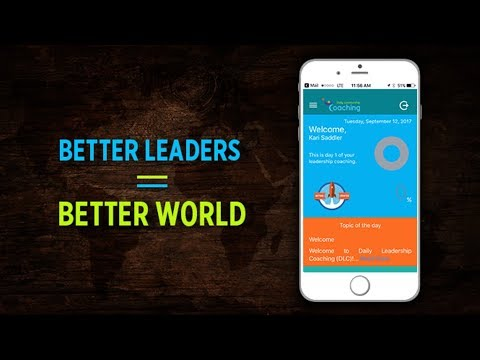 Revolutionary Coaching App for Daily Leadership Development New Technology Tech World