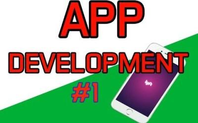 App Development Course #1 – Easy App Development 2018