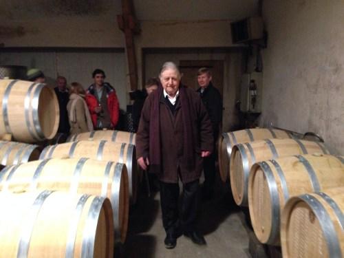 M. Bordeaux-Montrieux, current owner and descendant of Paul Thenard.