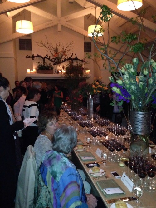 Symposium for Professional Wine Writers Fellows Dinner at Meadowood